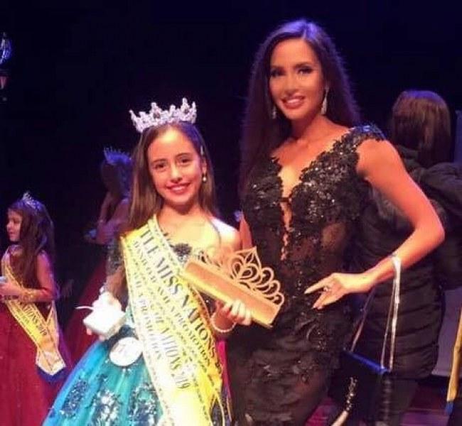Дъщерята на Наталия Гуркова спечели конкурс за красота в Бразилия