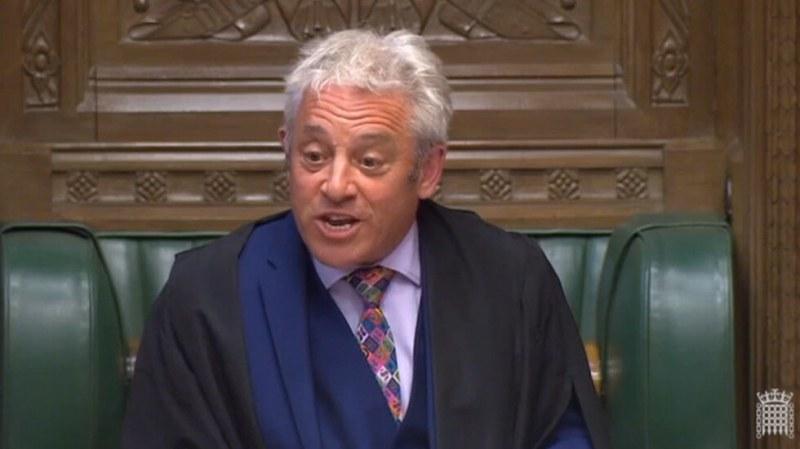 Председателят на британския парламент се оттегля от поста до 31 октомври
