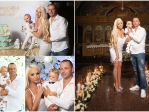 Теодора Балабанова и Атанас Петров с вълшебно кръщене за малкия Алекзандър