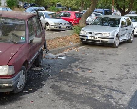 Шофьор помете три коли в Благоевград и избяга