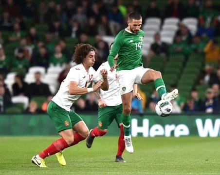 Слаба България се провали и срещу Ейре