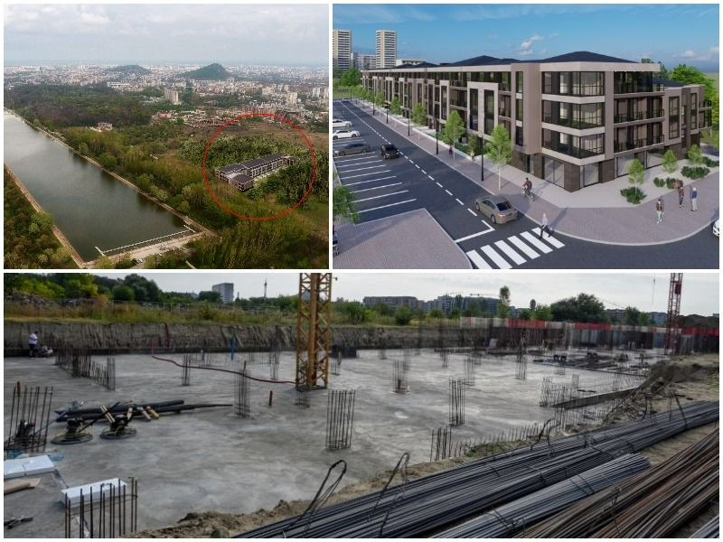 Строителството на новата жилищна перла на Пловдив напредва, интересът е огромен