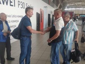 Крушарски посрещна ветераните на Динамо Москва
