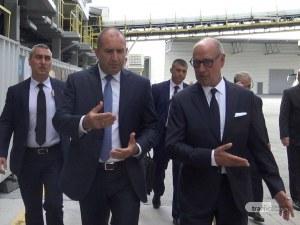 Президентът в Пловдив: Очаквам категорични доказателства по обвиненията в шпионаж