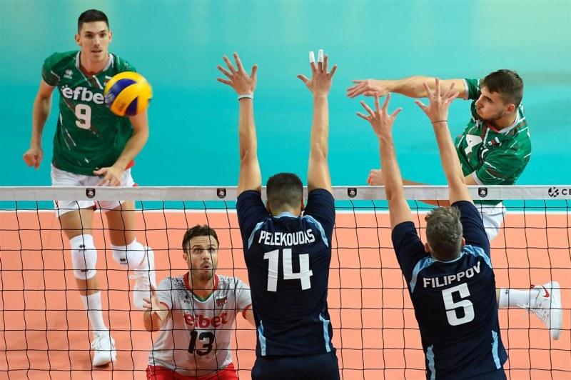 България с летящ старт на европейското по волейбол