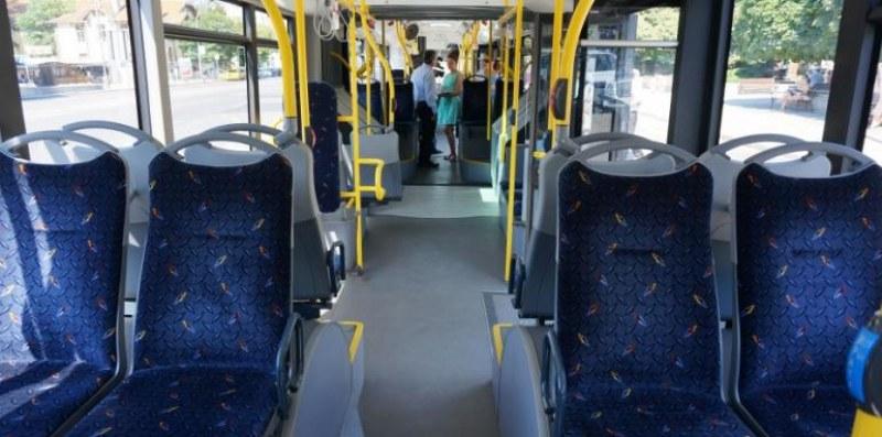 Рязка спирачка потроши софиянка в автобус от градския транспорт