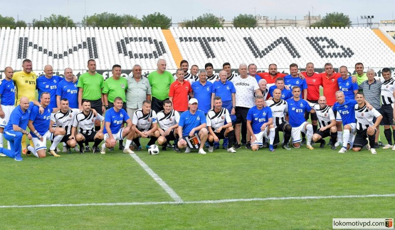 Ветераните на Локо и Динамо Москва не се победиха в голово шоу