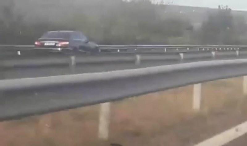 Жена с дете кара мерцедес със 120 км\ч в насрещното на АМ