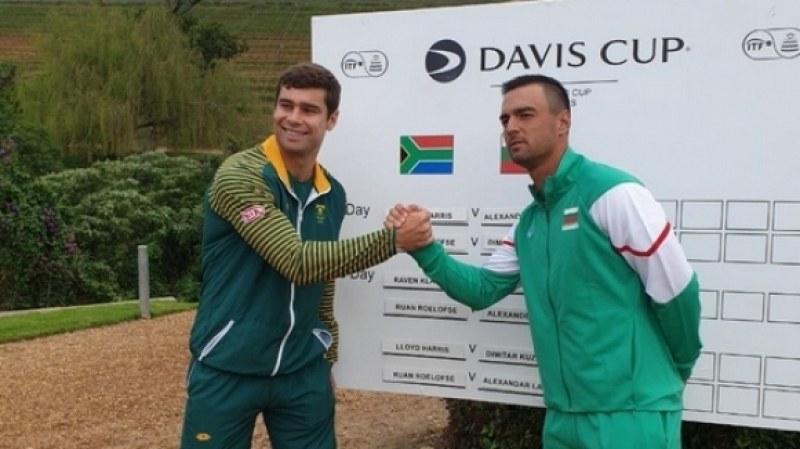 Мико с победа за Купа Дейвис - резултатът с ЮАР е равен