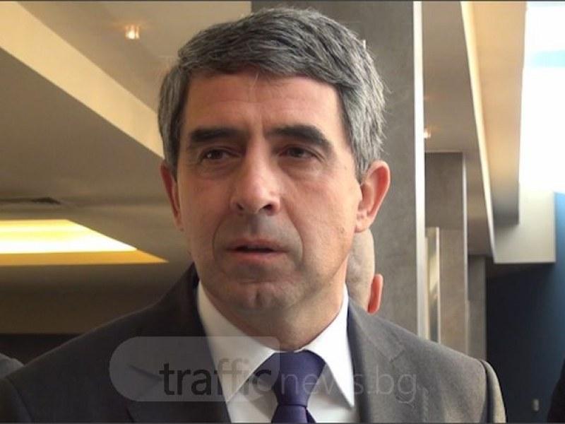 Плевнелиев: Отдавна стана ясно, че има руската хибридна атака в България