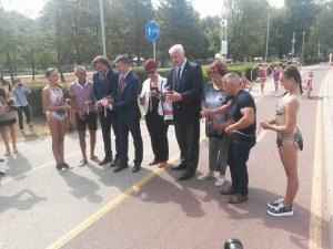Големите шампиони на Пловдив огряха Алеята на олимпийската слава