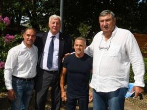 Здравко Димитров: Алеята на олимпийската слава ще мотивира младите спортисти на Пловдив