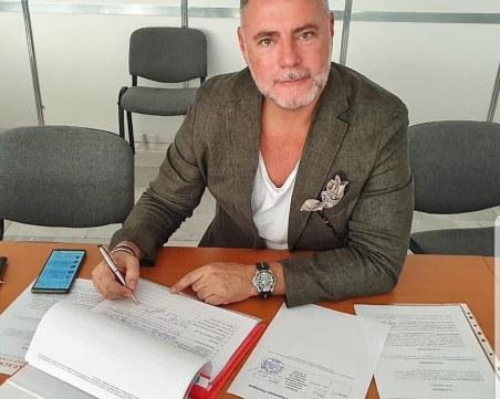 Новият кандидат за кмет на Пловдив направи регистрация за изборите