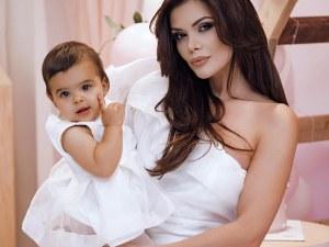 Преслава с прочувствено пожелание за първия рожден ден на дъщеря си