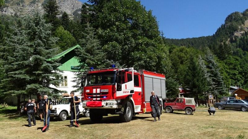 Локализираха пожара край Сухото езеро в Рила