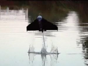 Изобретиха робот като летяща риба