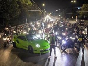 Нощно каране в София и Пловдив! Мотористи организират обиколки на градовете
