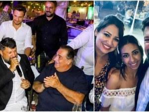 Василис Карас омъжи дъщеря си, Тони Стораро - единственият БГ изпълнител на сватбата