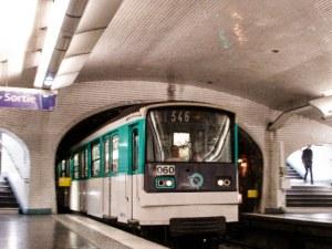 Влак без машинист вся паника в парижкото метро