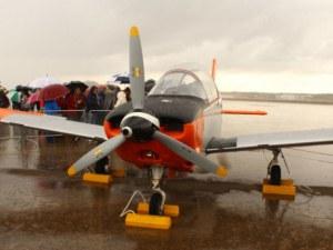 Военен самолет се разби в морето, двама загинаха