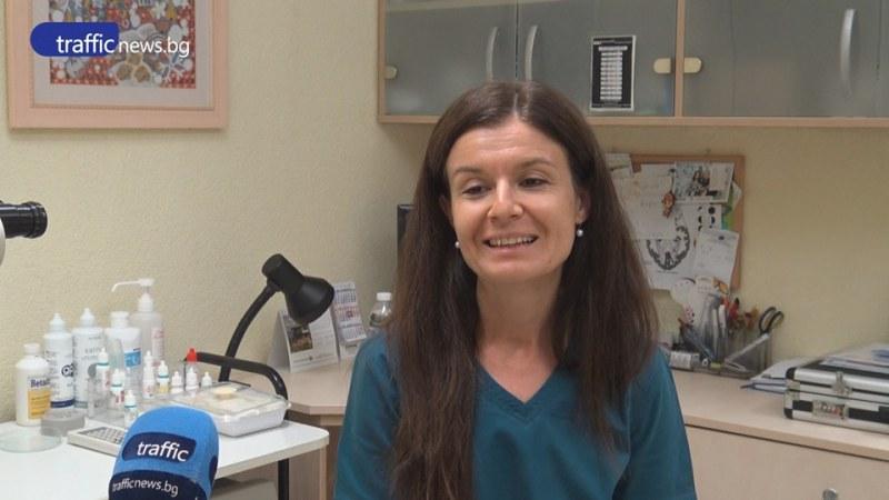 Младите лекари: Д-р Рангелова вижда чудото сляп да прогледне