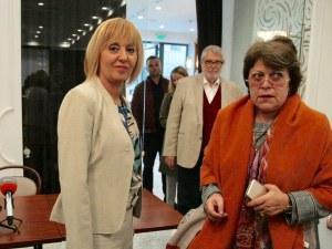АБВ и още 3 леви партии подкрепиха Мая Манолова