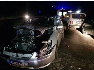 Тежка катастрофа между 6 коли на пътя София – Перник, има пострадали