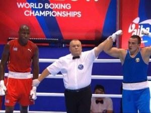Радослав Панталеев на финал на световнотно по бокс без игра