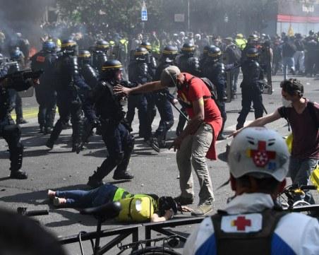 Над 100 арестувани на протест на