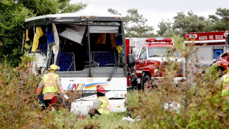 Катастрофира автобус с китайски туристи в САЩ