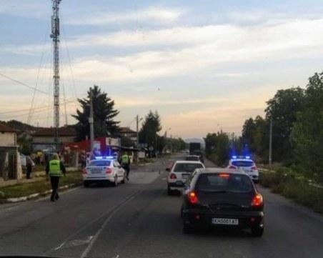 Моторист се заби в джип край Дупница, загина намясто