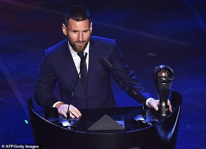 Кой друг, ако не Меси! Звездата на Барса е номер 1 за годината в класацията на ФИФА