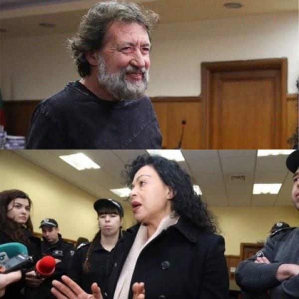 Най-колоритният арестант Николай Банев и семейството му застават пред съда