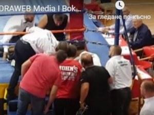 Починалият боксьор Борис от година се биел под името на своя братовчед Исус