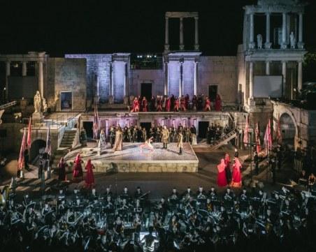 22 хиляди зрители отидоха на опера на Античния театър