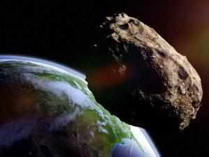 Астероид колкото три Хеопсови пирамиди лети към Земята