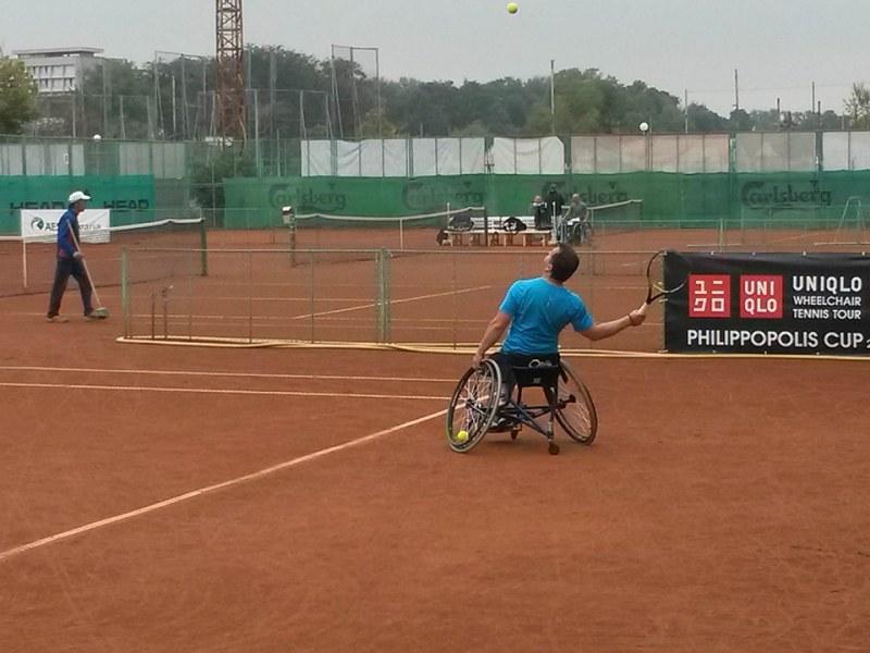 Голям тенис турнир за инвалиди стартира в Пловдив
