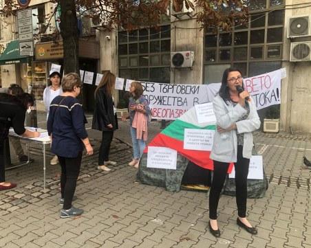 Медсестрите с подписка на пъпа на София, хвърлят масови оставки