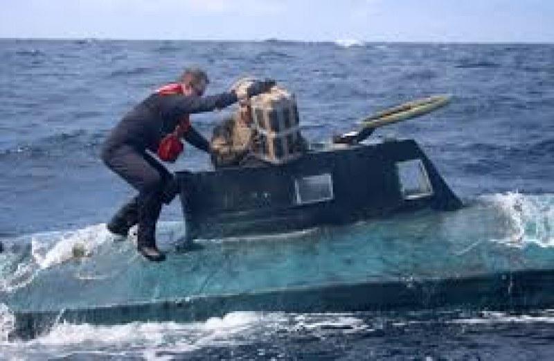 Удар: Спипаха 5 тона кокаин в подводница