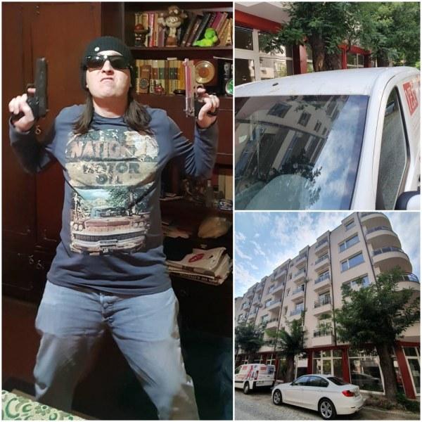 Златко изхвърлил котката на жена си от 6-я етаж в Пловдив, преди това пребил половинката си