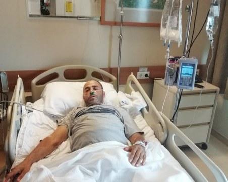 Зов за помощ! Али Сапунджиев страда от рак на стомаха, нека върнем таткото на едно дете