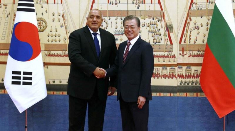 Корейският президент:  България е лидер на Балканите, благодарение на Бойко Борисов