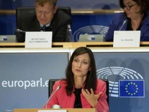 Овации и похвали за Мария Габриел, одобриха я за втори мандат като еврокомисар