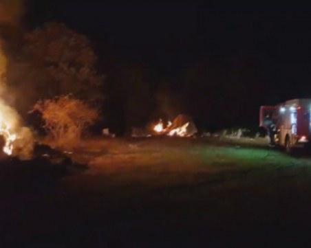Подпалиха имот на кандидат за кмет на село край Приморско