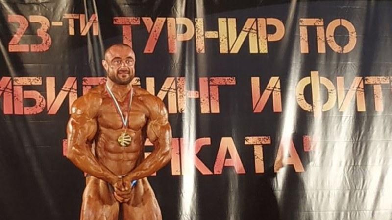 Културист от Катуница безапелационен шампион при най-тежките