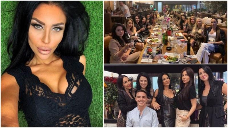 Стилистката Ралица Спасова с шумно парти