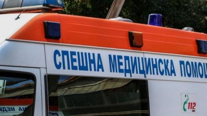 Жертва при катастрофа с пламнала газова бутилка