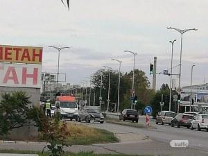 Катастрофа на един от изходите на Пловдив, има пострадало момиче