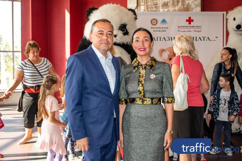 Президентът на Ротари Елена Кристиано с невероятен жест към деца от Пловдив