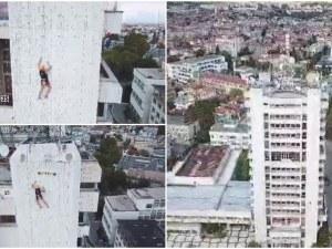 Рекорд! Ники от Пловдив изкатери стената на Община Пазарджик за 3.11 минути